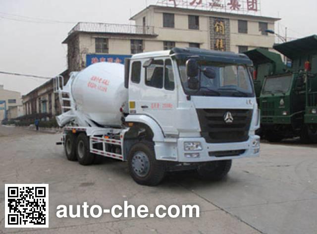 迅力牌LZQ5251GJB41YD混凝土搅拌运输车