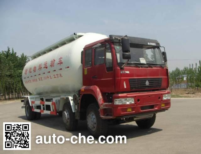 迅力牌LZQ5254GFLB粉粒物料运输车