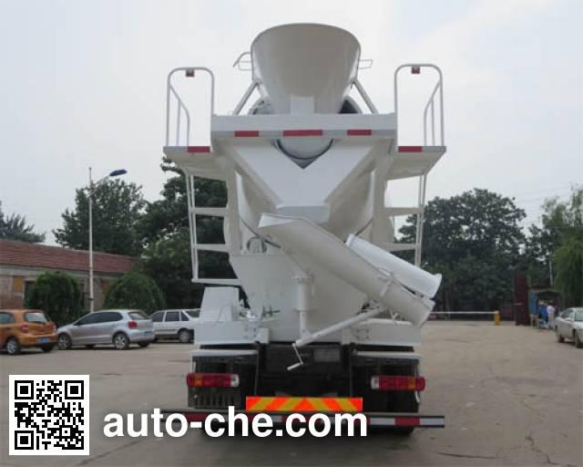 迅力牌LZQ5257GJB40D混凝土搅拌运输车
