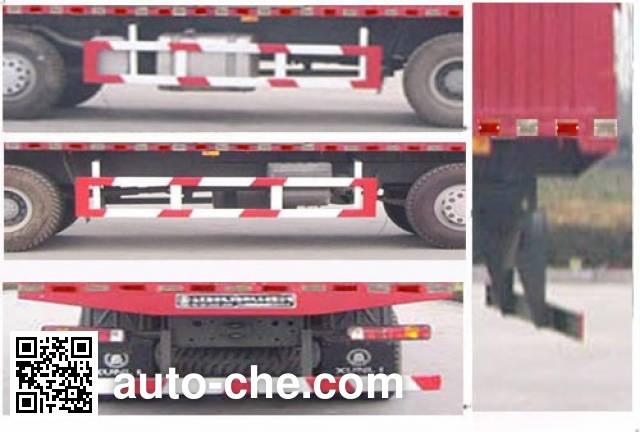 Xunli LZQ5314XXY box van truck
