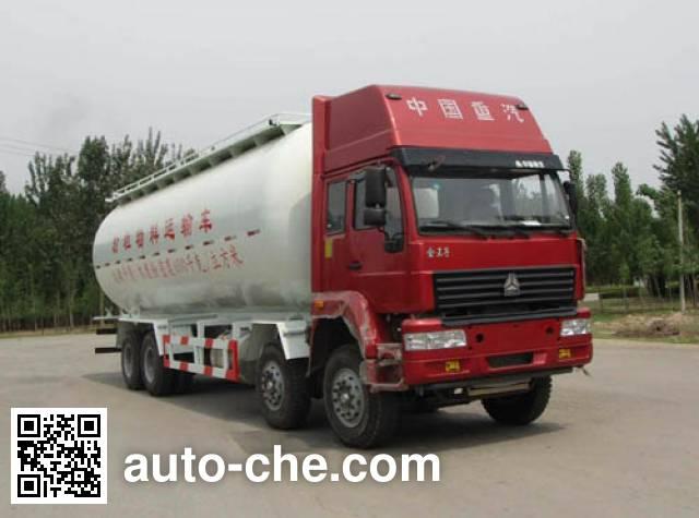 迅力牌LZQ5317GFLB粉粒物料运输车