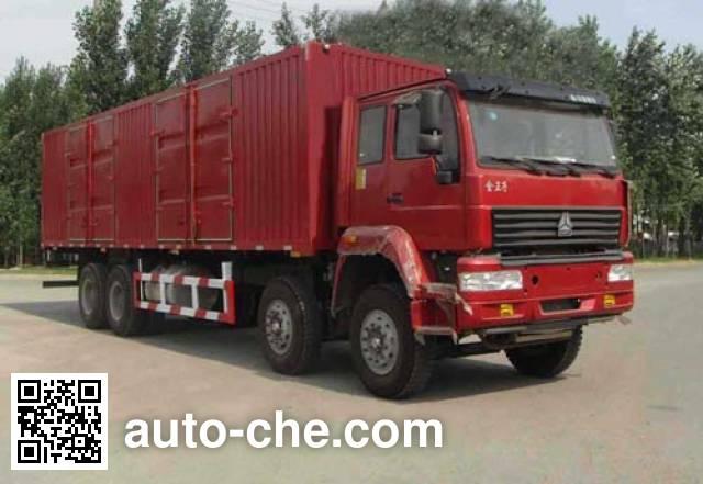 Xunli LZQ5318XXY box van truck