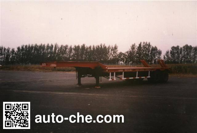 迅力牌LZQ9340TDP低平板半挂车