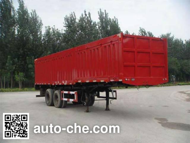 Xunli LZQ9341XXY box body van trailer