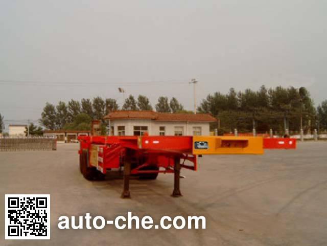 迅力牌LZQ9352TJZG集装箱半挂牵引车