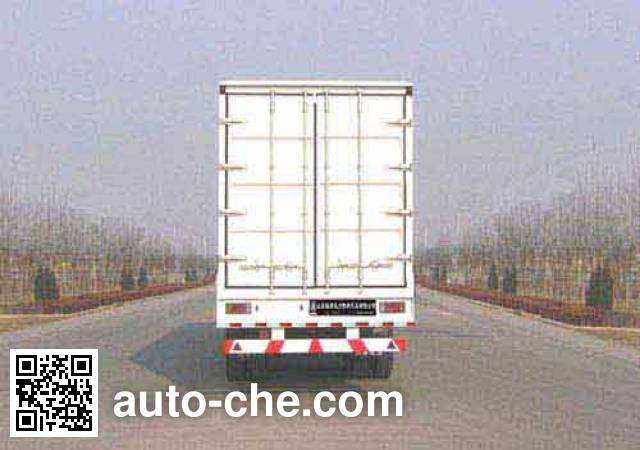 Xunli LZQ9390XXY box body van trailer