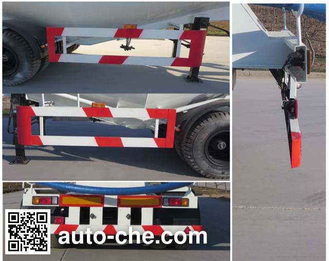 Xunli LZQ9400GXH ash transport trailer