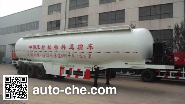 迅力牌LZQ9404GFL中密度粉粒物料运输半挂车