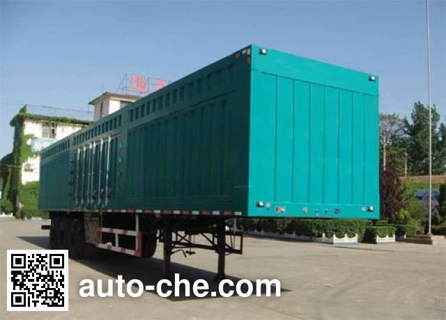 Xunli LZQ9408XXY box body van trailer