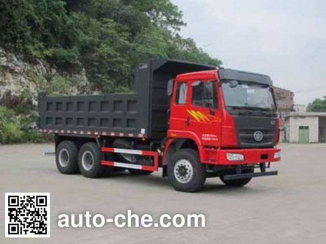 FAW Liute Shenli LZT3256PK2E4T1A93 dump truck