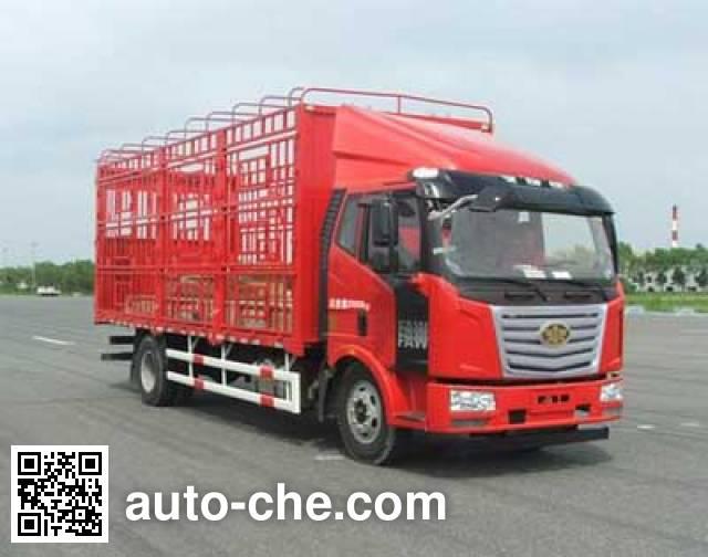 柳特神力牌LZT5160CCQPK2E5L3A95畜禽运输车