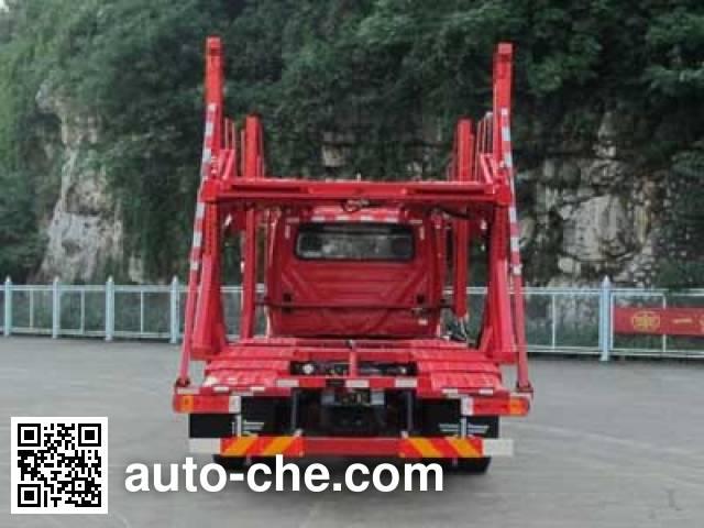 FAW Liute Shenli LZT5210TCLK2E5R5T3A90 car transport truck