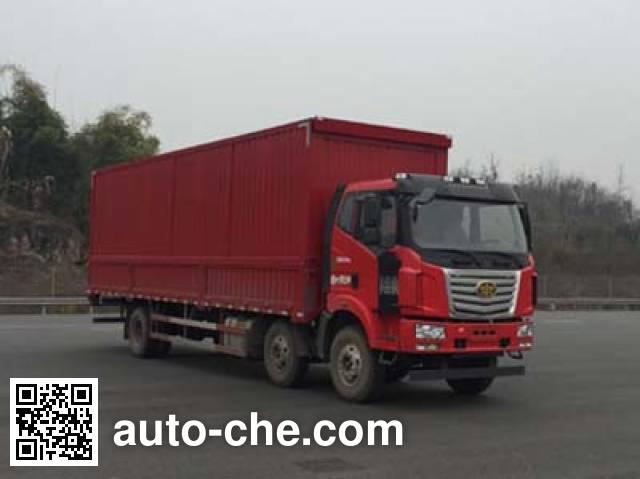 FAW Liute Shenli LZT5250XYKPK2E5L8T3A95 wing van truck