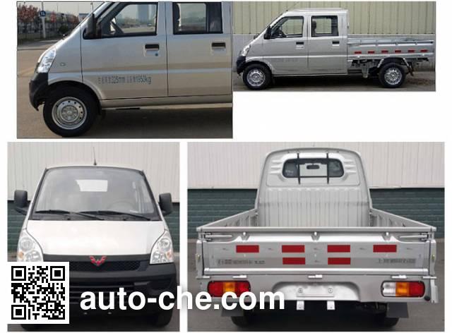 Wuling LZW1029SBFA crew cab cargo truck