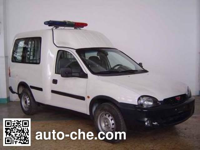 Wuling LZW5020XQCS prisoner transport vehicle
