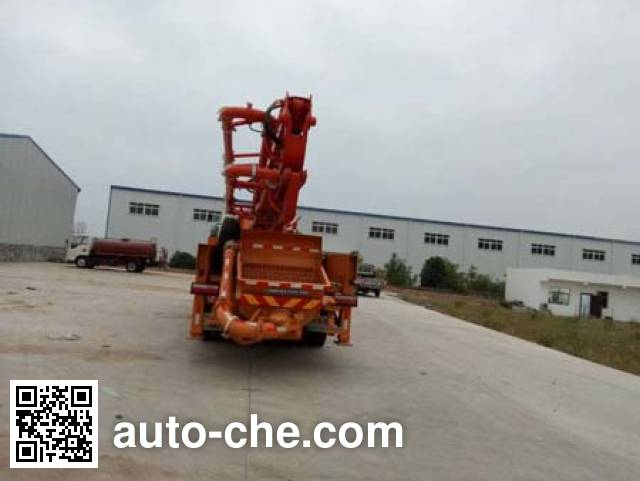 华悦达牌LZX5230THBL混凝土泵车