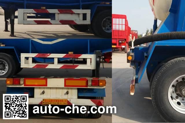 Juyunda LZY9400GFL medium density bulk powder transport trailer