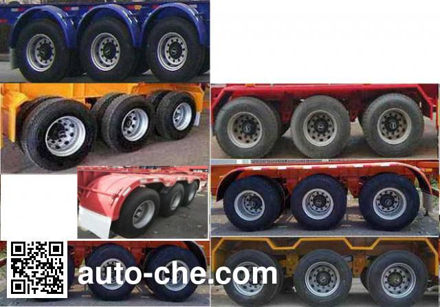Juyunda LZY9400TJZ container transport trailer