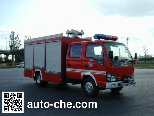 振翔牌MG5050TXFJY35抢险救援消防车