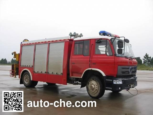 振翔牌MG5100TXFJY55X抢险救援消防车
