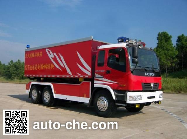 振翔牌MG5250TXFZX120自装卸式消防车