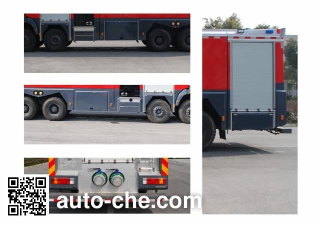 振翔牌MG5340GXFPM160泡沫消防车