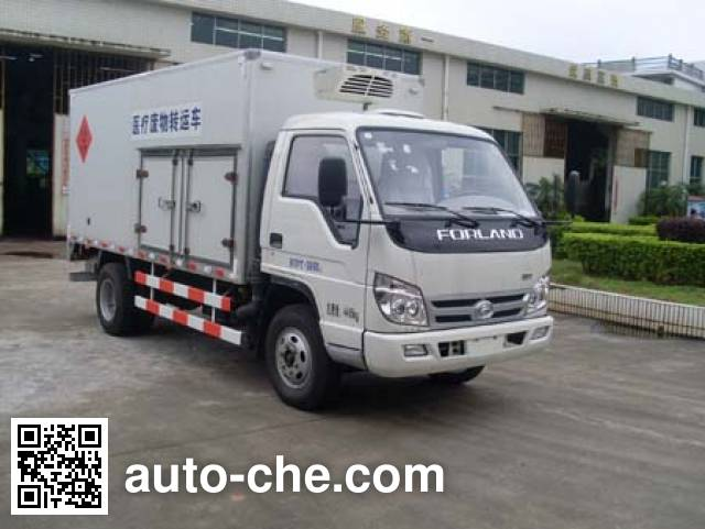 Huajie MHJ5040XYY05B medical waste truck