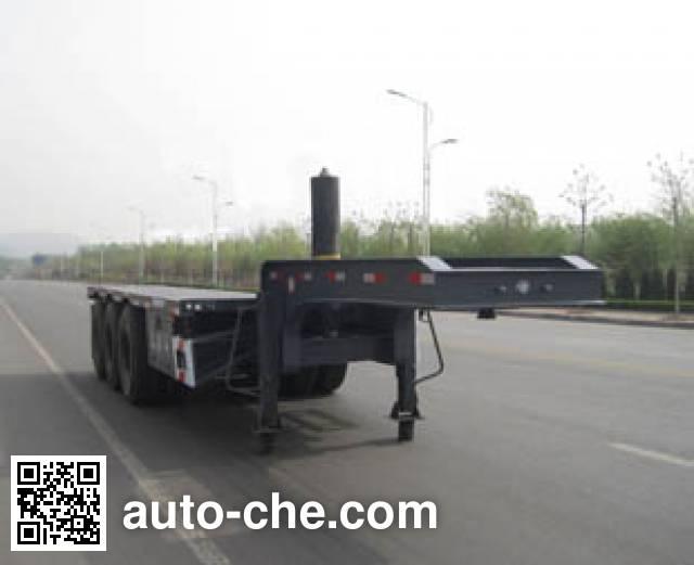 Tongguang Jiuzhou MJZ9400ZZXP flatbed dump trailer