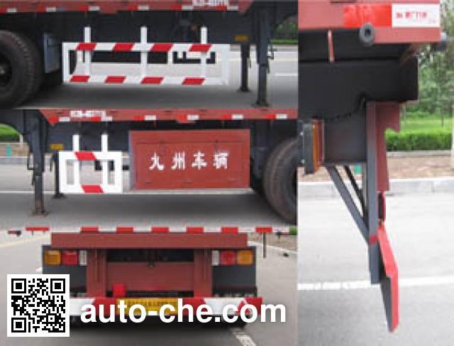 通广九州牌MJZ9401TZX自卸半挂车