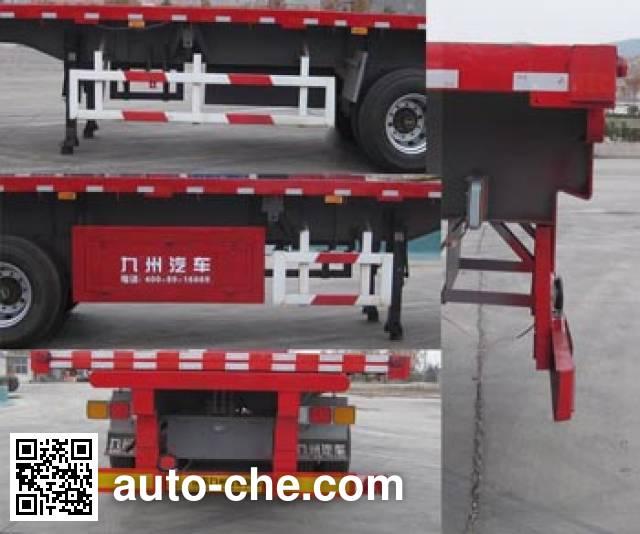Tongguang Jiuzhou MJZ9401ZZXP flatbed dump trailer