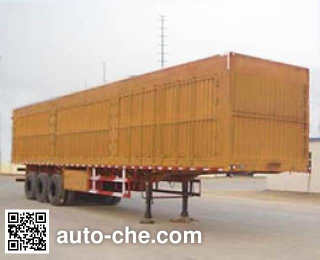 Tongguang Jiuzhou MJZ9404XXY box body van trailer