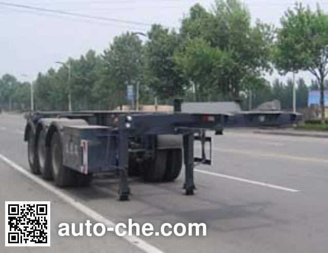 Tongguang Jiuzhou MJZ9405TJZ container transport trailer