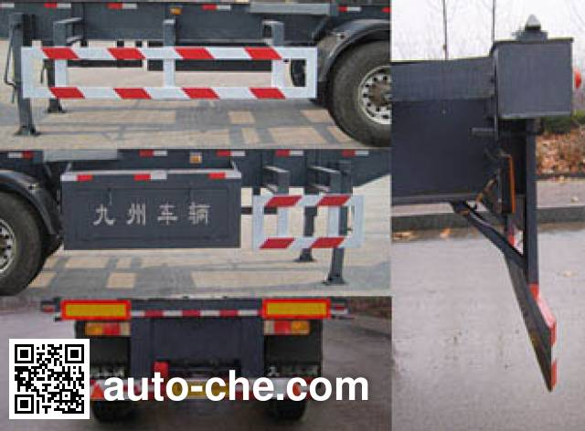 Tongguang Jiuzhou MJZ9406TJZ container transport trailer