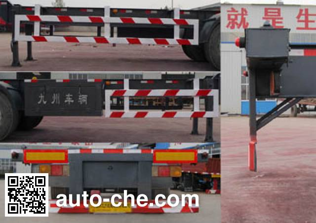 Tongguang Jiuzhou MJZ9407TJZ container transport trailer