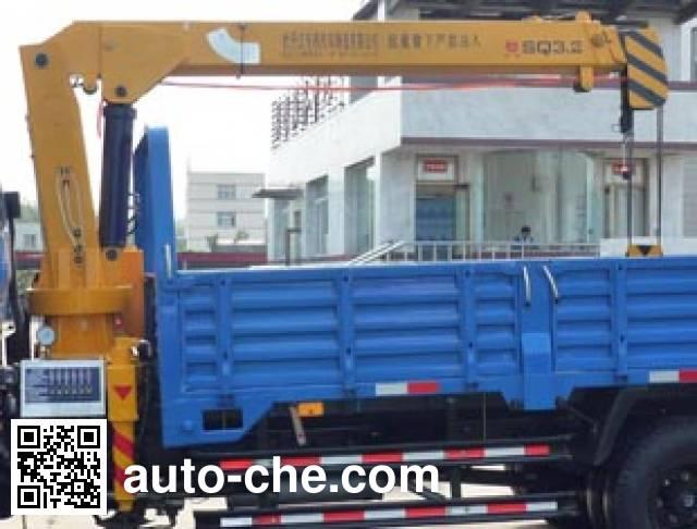 Tieyun MQ5040JSQW5 truck mounted loader crane