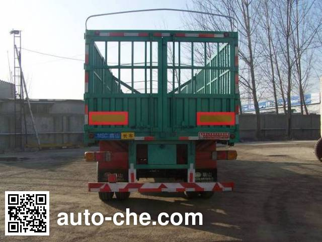 Mengshan MSC9380CCY stake trailer