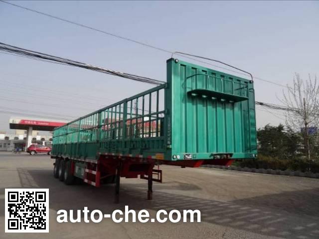 Mengshan MSC9380CCYD stake trailer