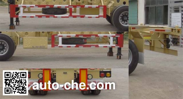 Mengshan MSC9380TJZG container transport trailer