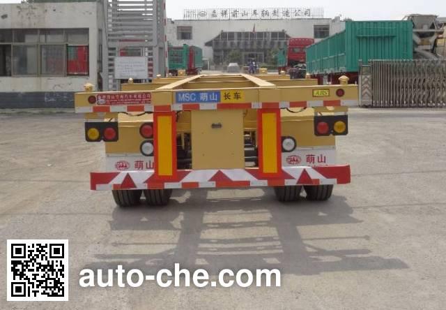 Mengshan MSC9381TJZG container transport trailer