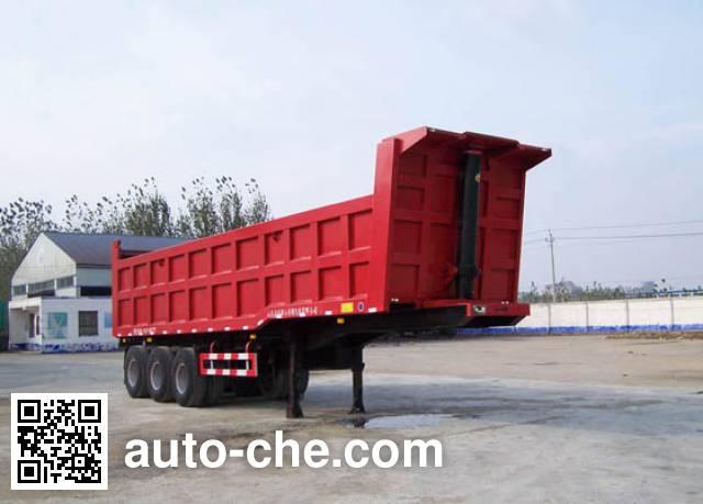 Mengshan MSC9400HZX dump trailer