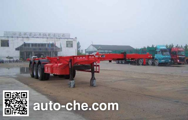 Mengshan MSC9400TJZG container transport trailer