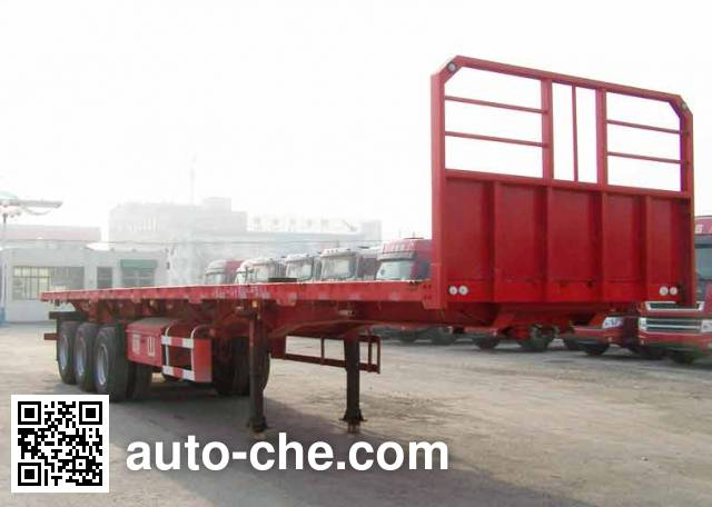 Mengshan MSC9400ZZXP flatbed dump trailer