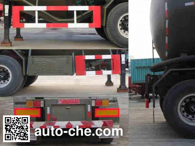 Mengshan MSC9401GFL medium density bulk powder transport trailer