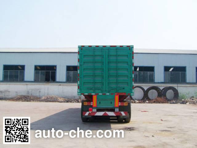 Mengshan MSC9401XXY box body van trailer