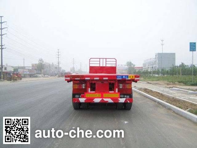 Mengshan MSC9403 flatbed trailer