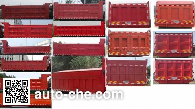 Mengsheng MSH3312G2 dump truck