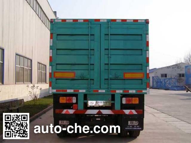 Shiyun MT9390XXY box body van trailer