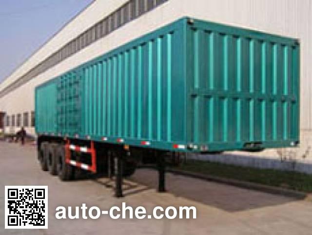 Shiyun MT9401XXY box body van trailer