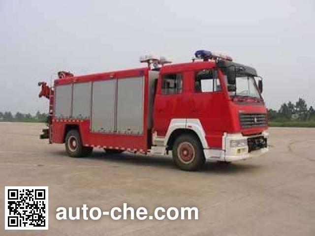 光通牌MX5130TXFJY88S抢险救援消防车