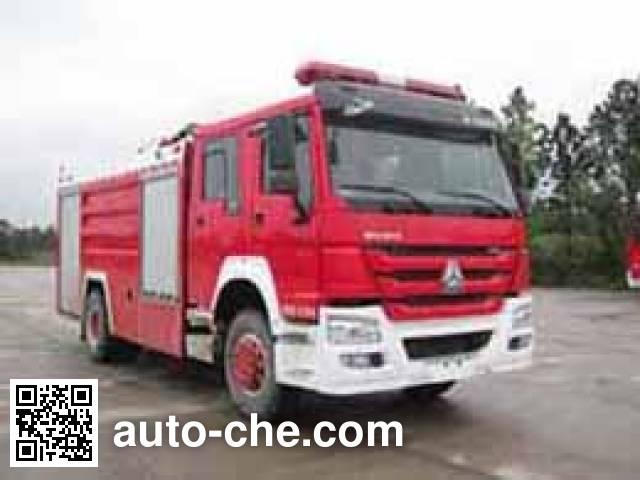 Guangtong (Haomiao) MX5190GXFPM80/HS foam fire engine